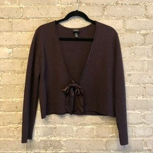Eileen Fisher 100% Merino Wool Cardigan Size S
